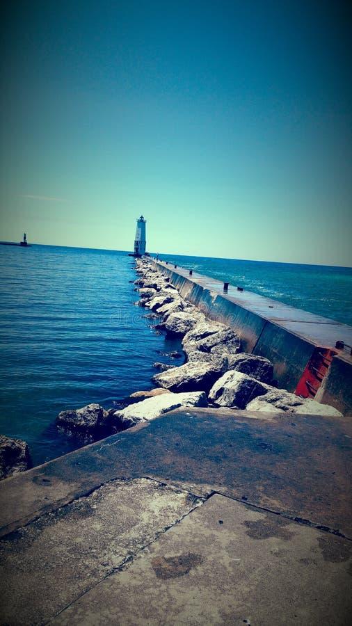 Frankfort Michigan obraz royalty free