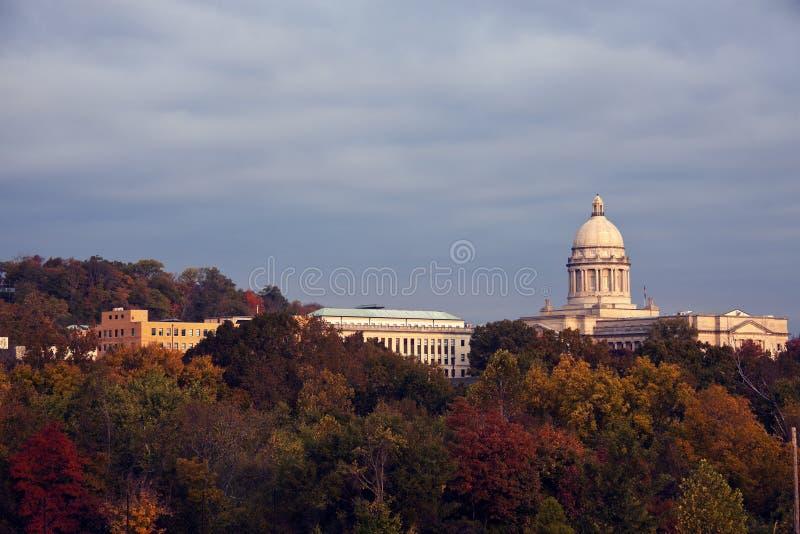 Frankfort - stanu Capitol budynek zdjęcia stock