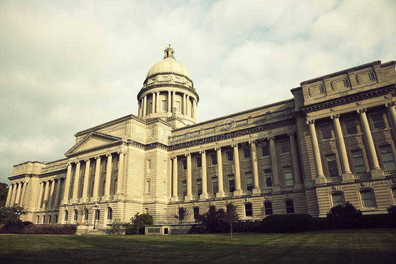 Frankfort - stanu Capitol budynek obrazy stock