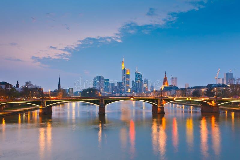 frankfurt royaltyfri fotografi