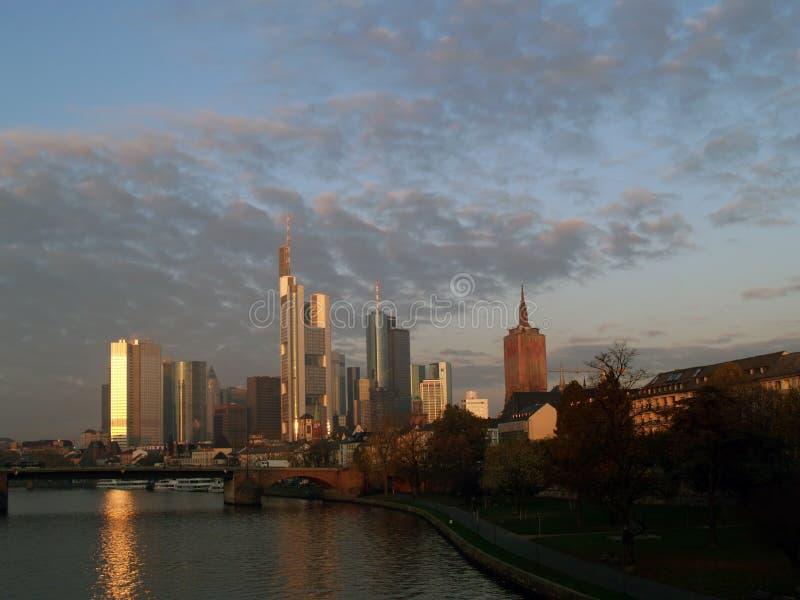 Frankfurt royalty-vrije stock afbeelding