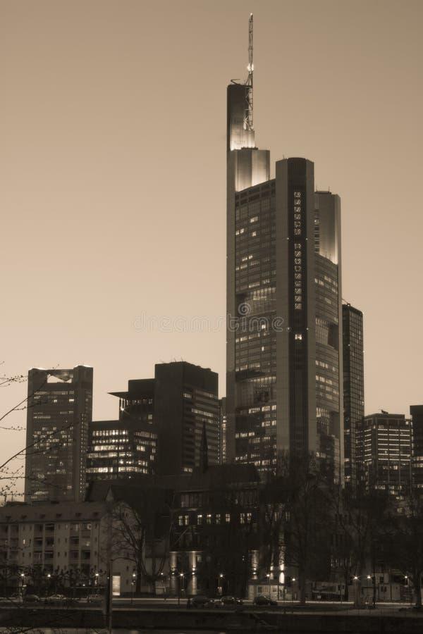 frankfurt стоковое фото rf