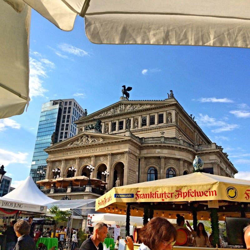 Frankfurt Alte Oper royalty-vrije stock foto's
