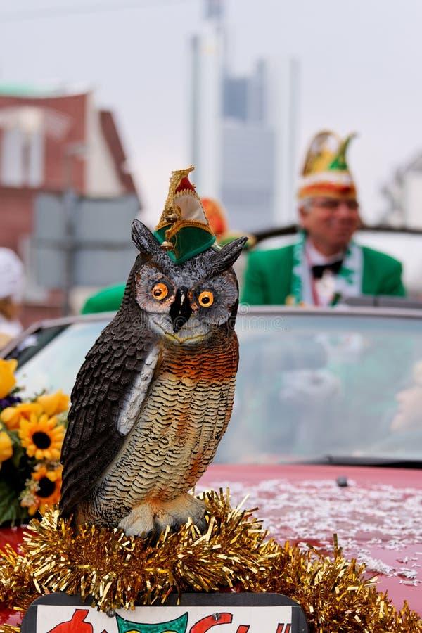 Frankfurt Carnival 2010, Germany stock image