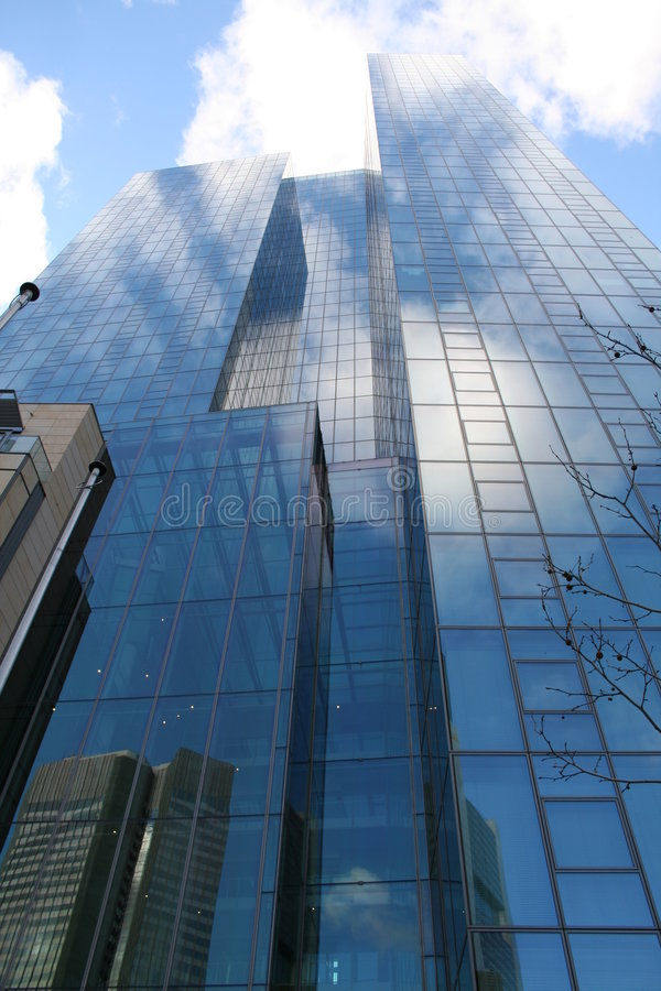 Frankfurt city1 tower obrazy royalty free