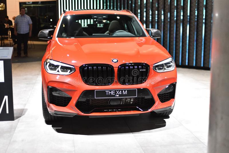 Frankfurt, Deutschland, 11. September 2019: BMW X4 M IAA 2019 lizenzfreie stockbilder
