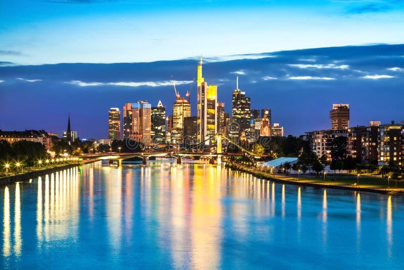 Frankfurt - f arkivfoton