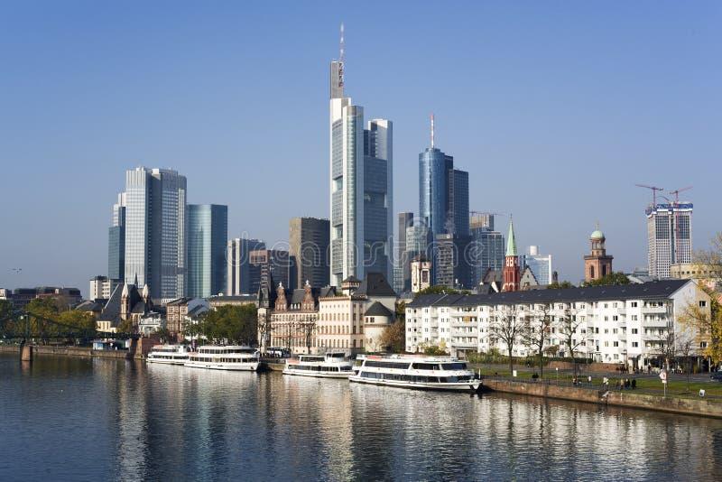 Download Frankfurt Financial District Stock Image - Image: 6900591