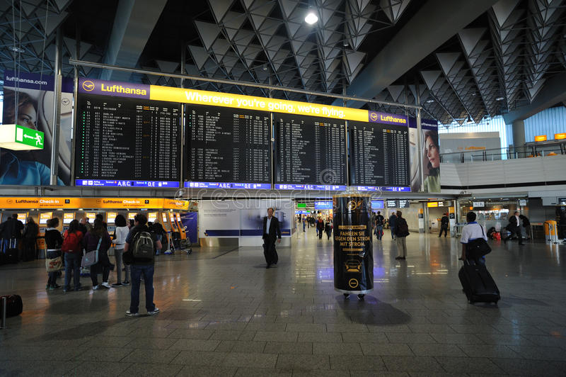 Terminal 1 Ankunft Frankfurt