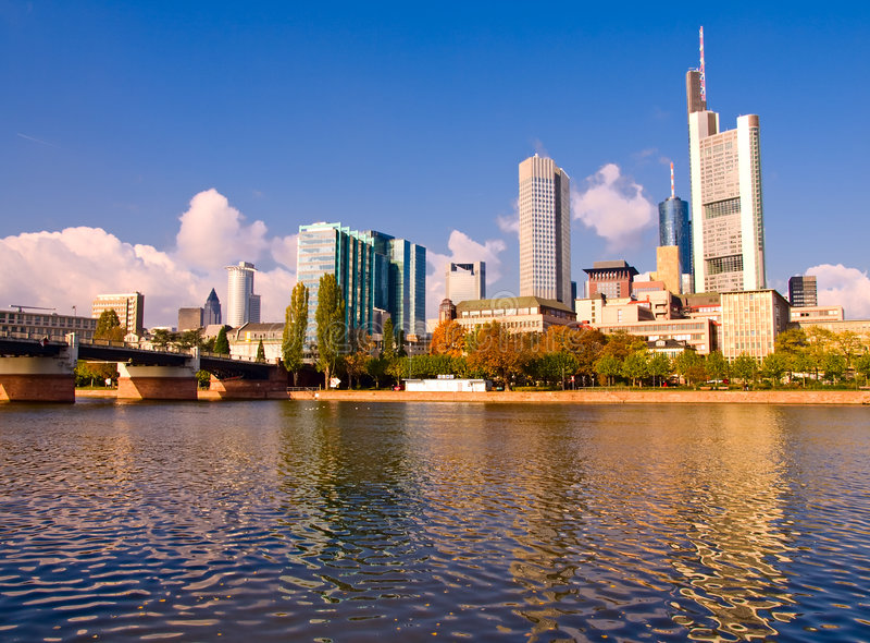 Frankfurt, Germany stock image