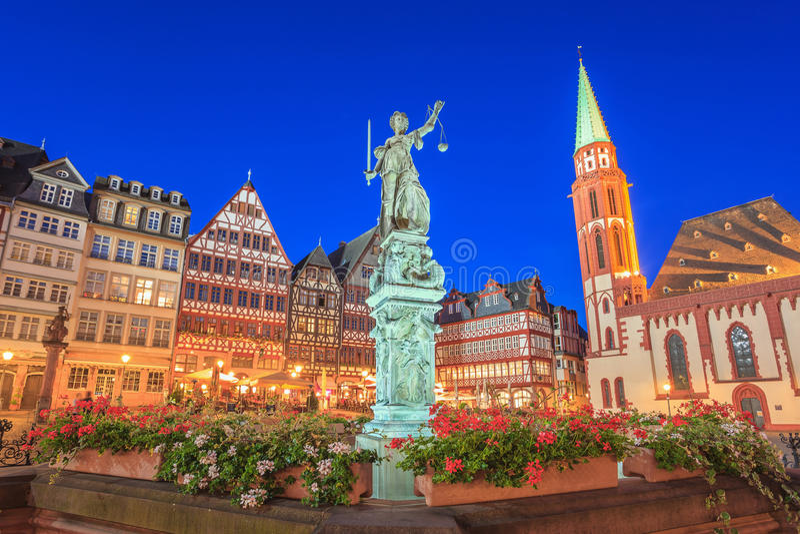 frankfurt germany royaltyfria foton