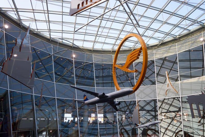 Frankfurt Airport royalty free stock photos