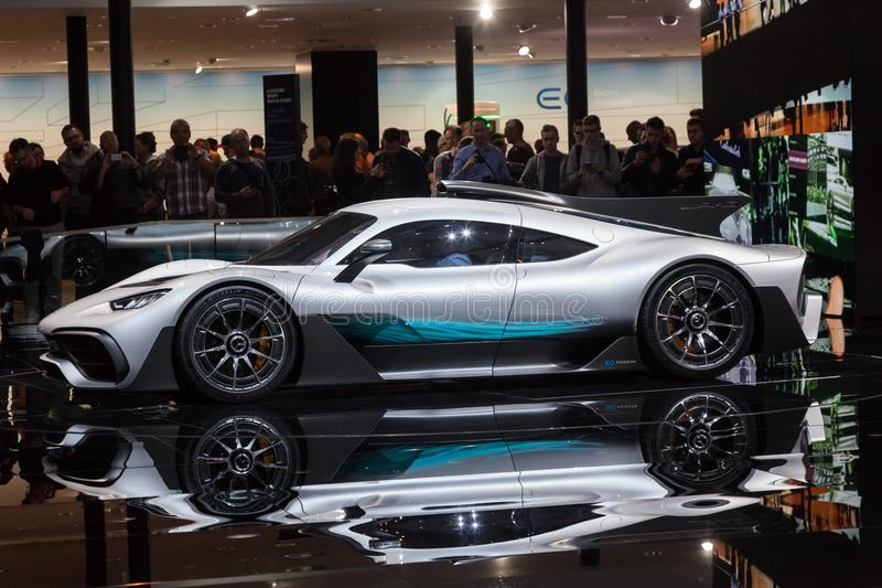 Mercedes AMG Project ONE stock photo