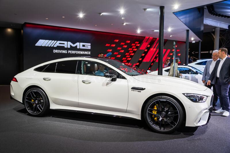 Mercedes-AMG GT 63 S Sports Car Editorial Stock Image ...