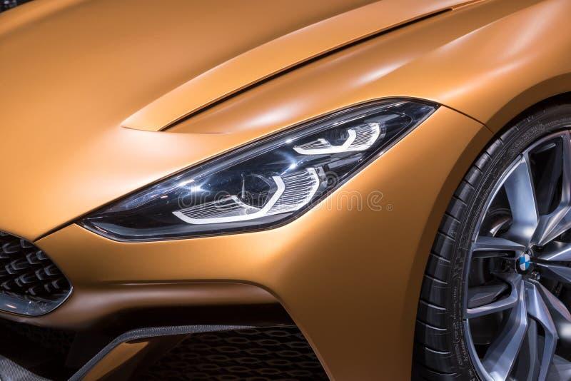 BMW Concept Z4 sports car stock photos