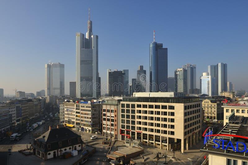 Download Frankfurt Hauptwache editorial stock image. Image of financial - 25625504