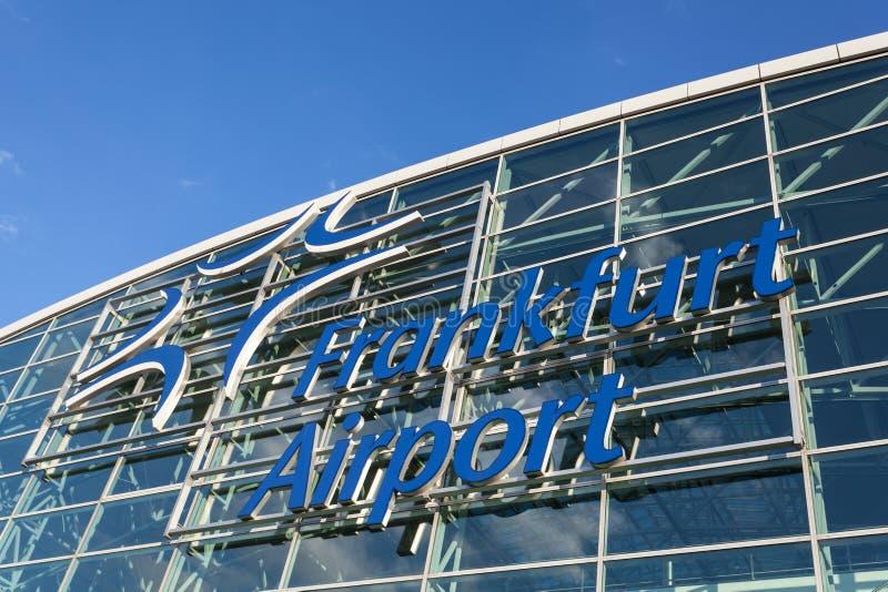 Frankfurt International Airport, Germany stock photo