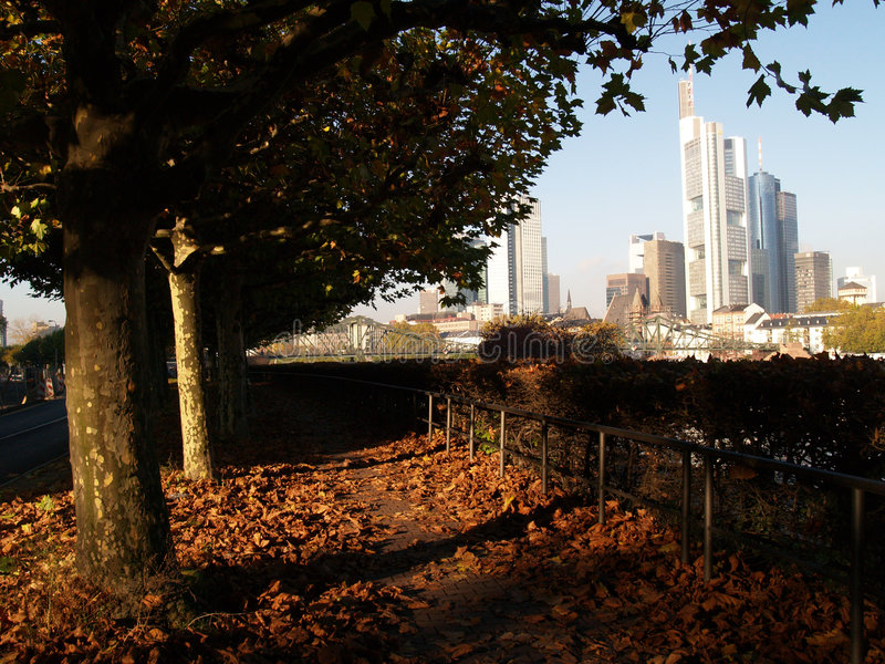 Frankfurt ix stock foto