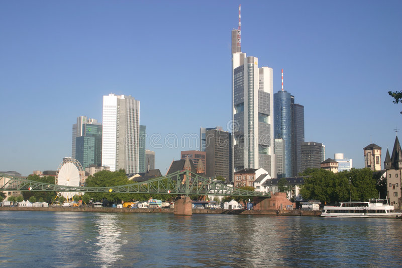 frankfurt linia horyzontu obrazy royalty free