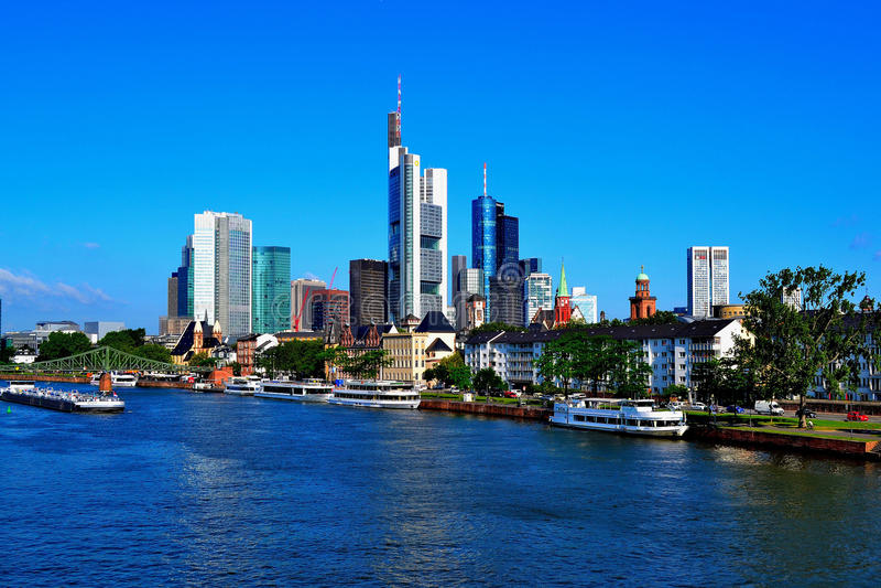 Frankfurt-am-Main royalty-vrije stock foto's