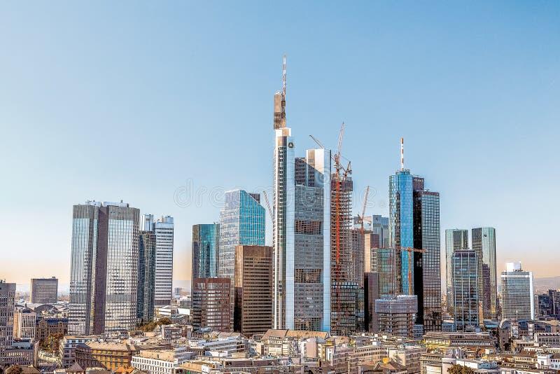 Frankfurt-am-Main, Alemania, día de verano fotos de archivo libres de regalías