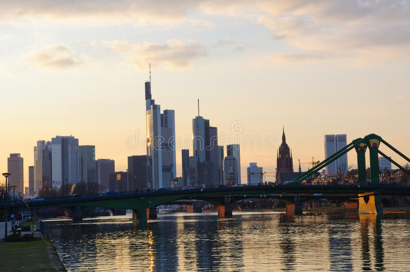 Download Frankfurt am Main, Germany stock image. Image of river - 23741671