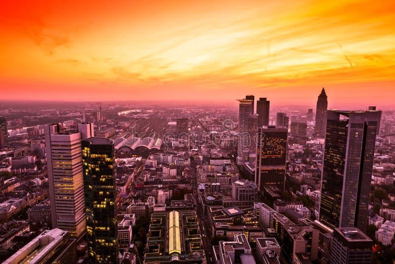 Download Frankfurt am Main, Germany stock photo. Image of aerial - 24753248