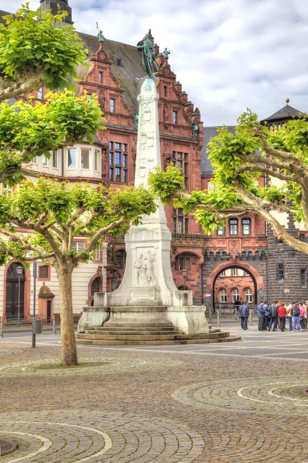 Frankfurt am Main Historische Mitte lizenzfreie stockfotos
