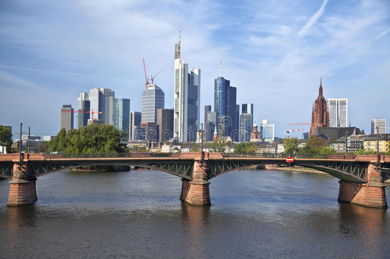Download Frankfurt am Main. stock photo. Image of main, structure - 34184514