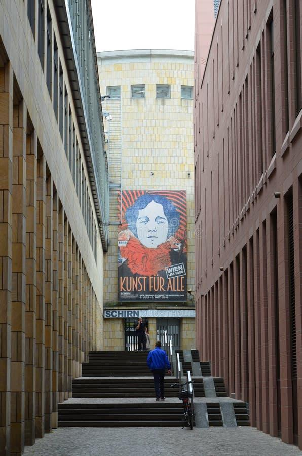 Frankfurt-am-Main, museum stock afbeeldingen