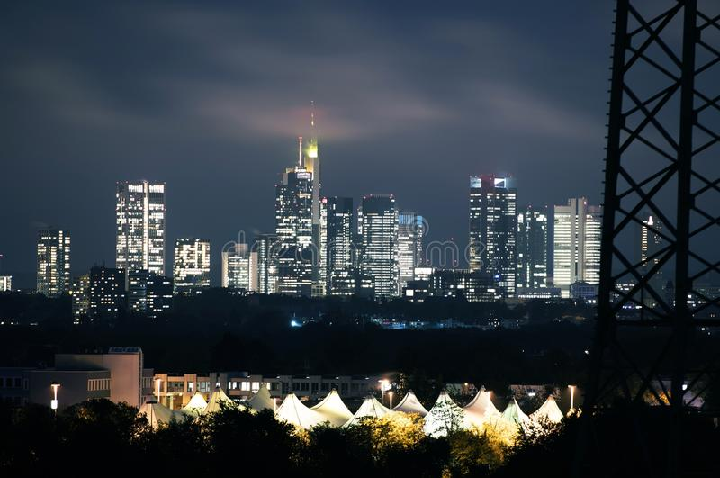 Frankfurt Am Main Skyline royalty free stock images