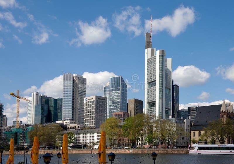 Frankfurt am Maine pejzaż miejski obrazy stock