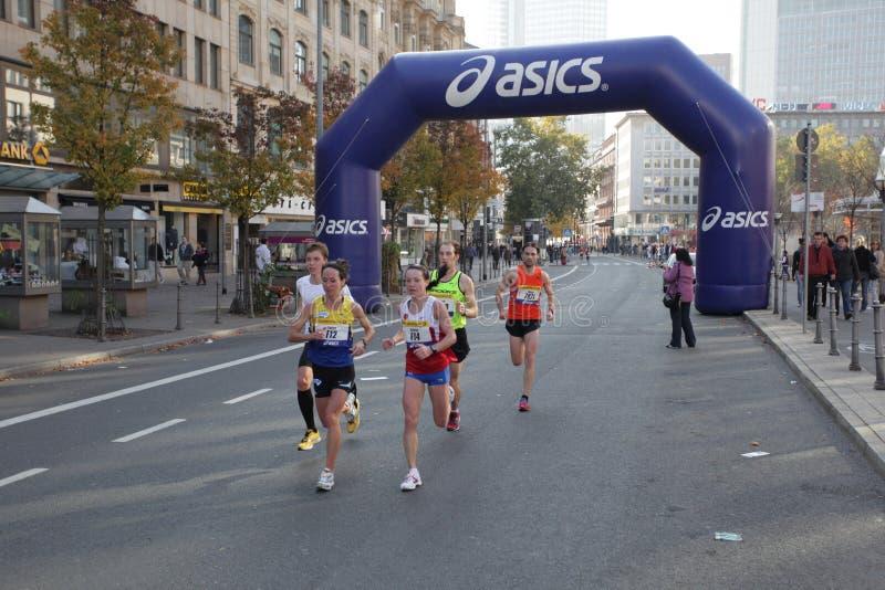 Frankfurt Marathon 2010 Editorial Image
