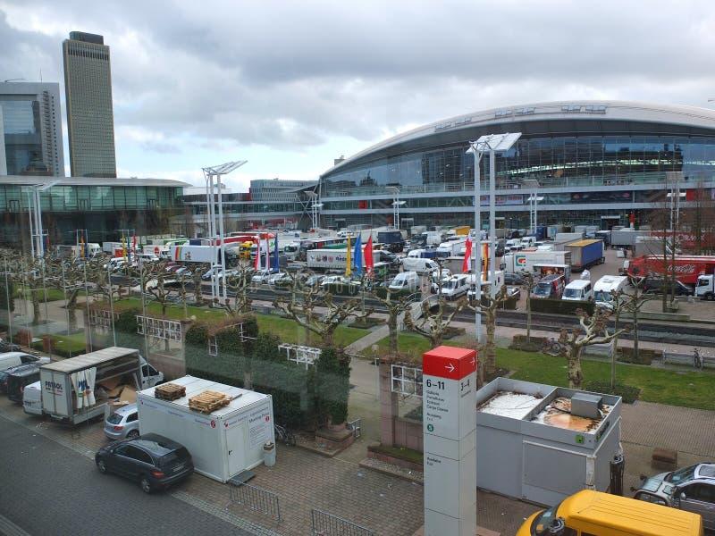 Frankfurt Messe stock afbeelding
