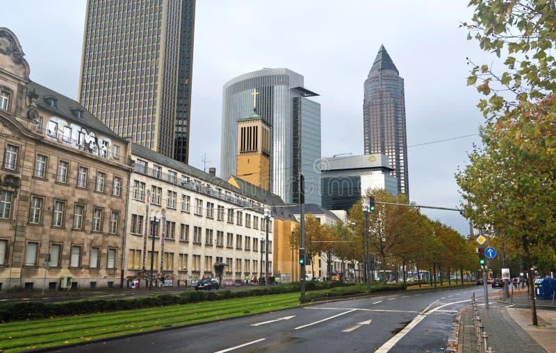 Frankfurt Messe St. stock afbeelding