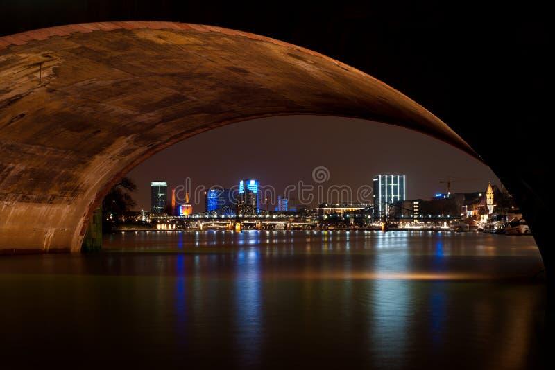 Download Frankfurt By Night, Germany Stock Photo - Image: 8563622