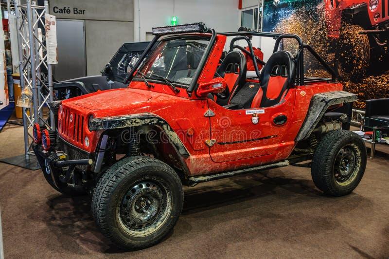 FRANKFURT - SEPT. 2015: Quadix-Buggy 1100 dargestellt an IAA-Interniertem stockbilder