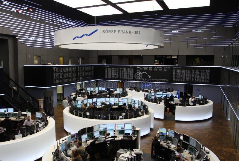 Frankfurt Stock Exchange stock photography