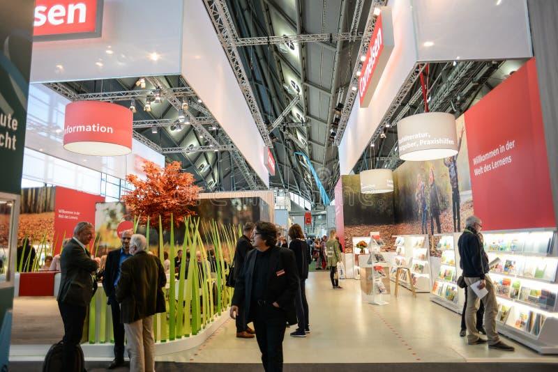 Frankfurt targi książki obraz stock