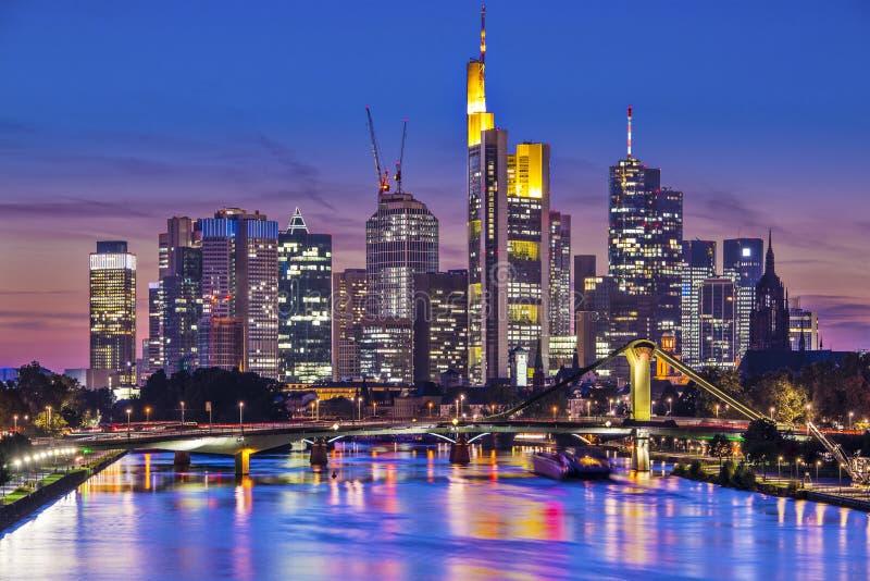 Frankfurt Tyskland royaltyfri foto