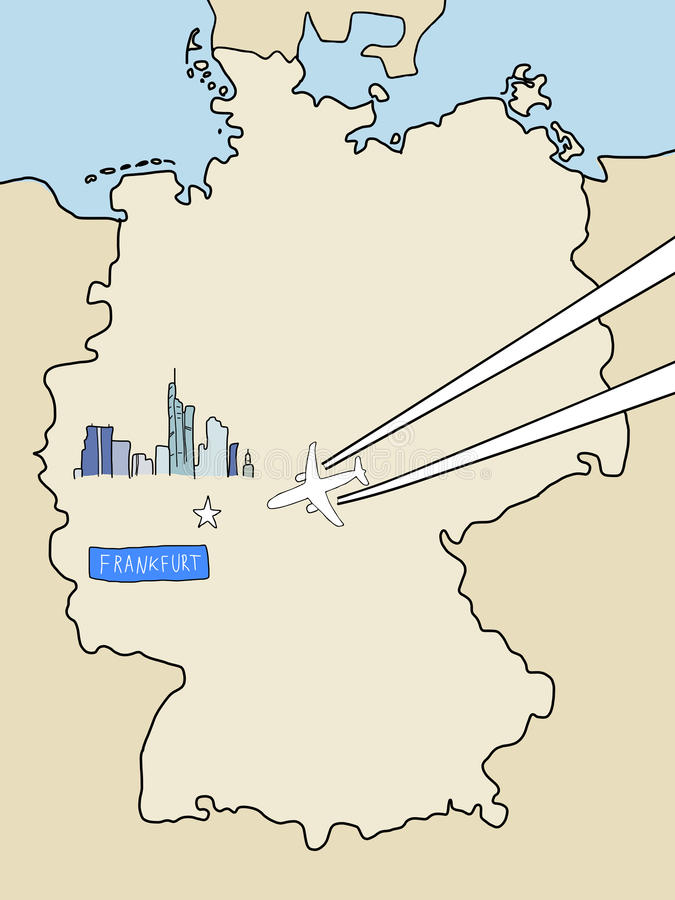 Download Frankfurt stock vector. Image of attractions, attraction - 31407680