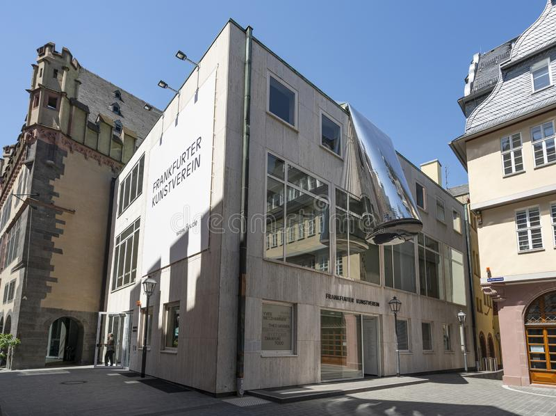 Frankfurter Kunsterein-Museum lizenzfreie stockfotografie