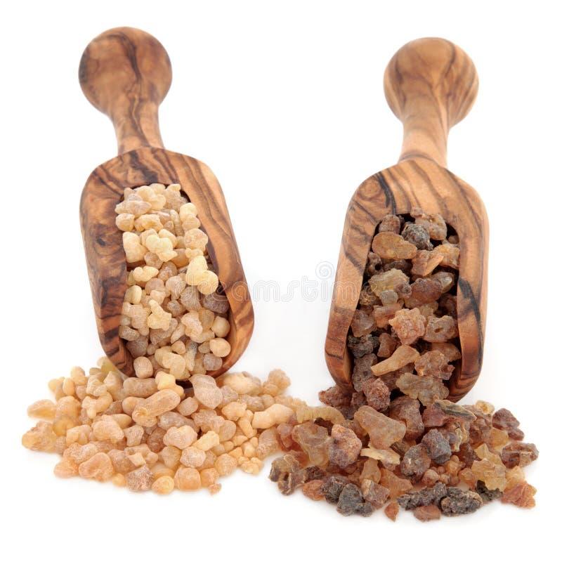 Frankincense και Myrrh στοκ φωτογραφία με δικαίωμα ελεύθερης χρήσης
