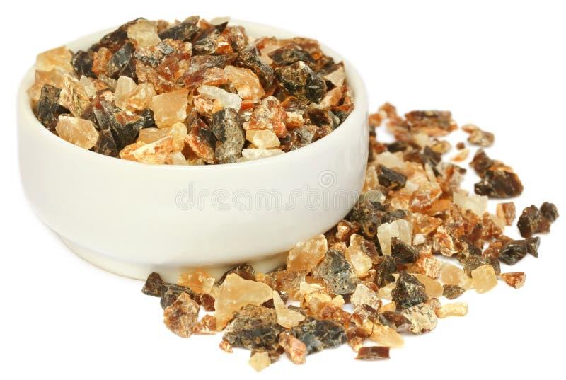Frankincense dhoop, naturalny aromatyczny żywica zdjęcie stock