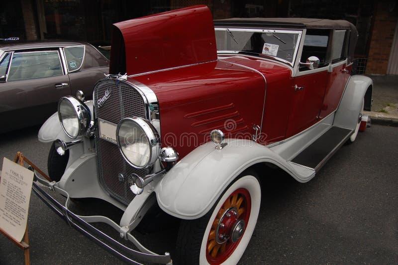Franklin Convertible Speedster 1930 fotos de stock royalty free