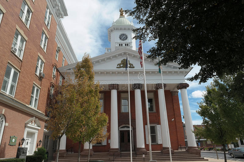 Franklin County Courthouse photos stock