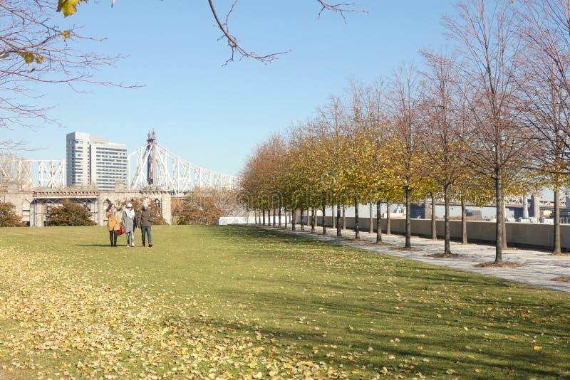 Franklin D Roosevelt Four Freedoms Park imagenes de archivo
