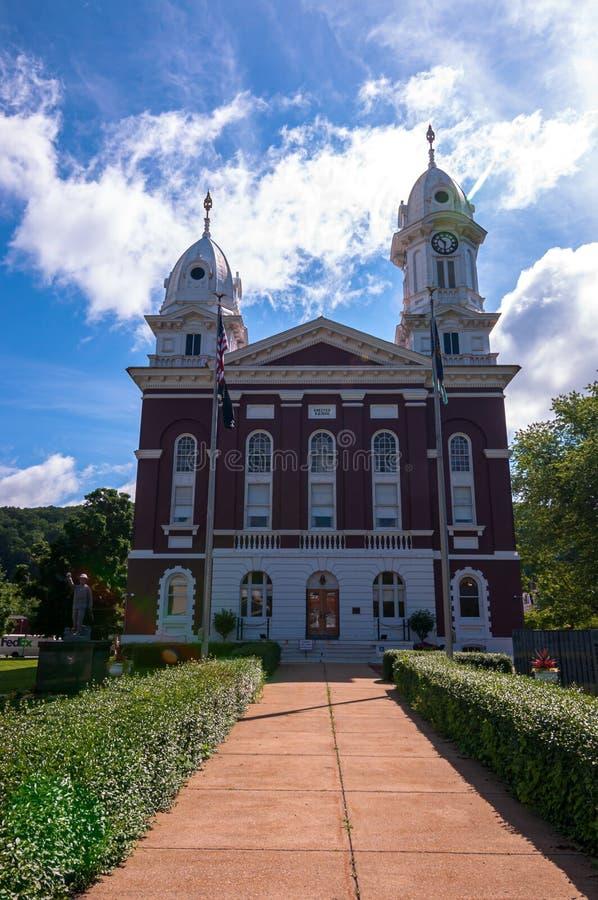 Franklin, Pennsylvanie, Etats-Unis 6/21/2019 du tribunal du comté de Venango photos libres de droits