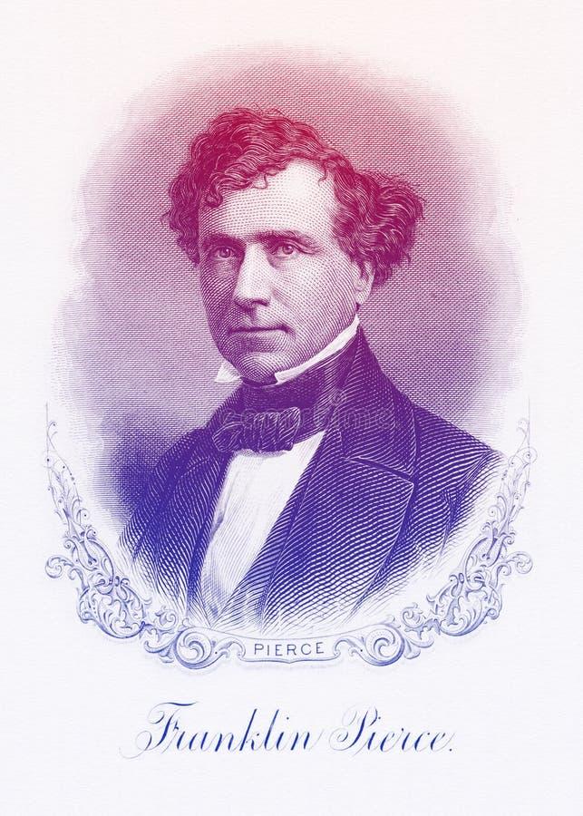 Free Franklin Pierce 14th U.S. President Line Art Portrait Royalty Free Stock Images - 163197829