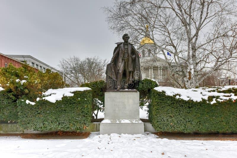 Franklin Pierce Monument arkivfoto